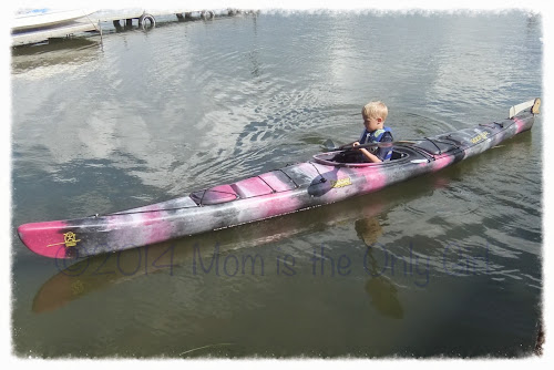 my boy kayaking at https://momistheonlygirl.com