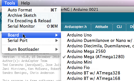 EastBay RC: Setting up the Ardupilot software