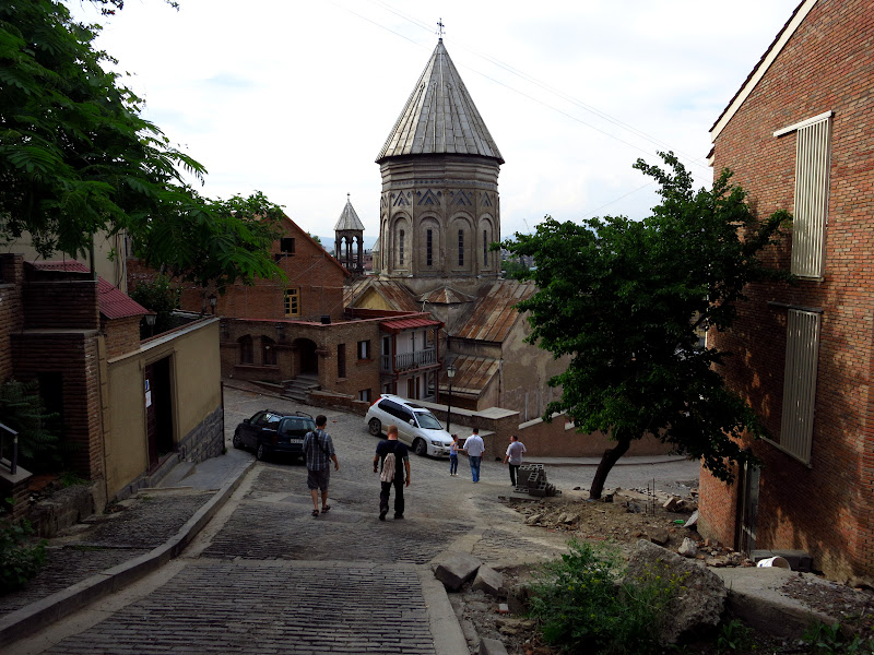 Wandering through Tbilisi