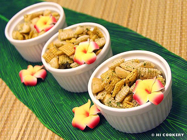 Hawaiian Style Chex Mix