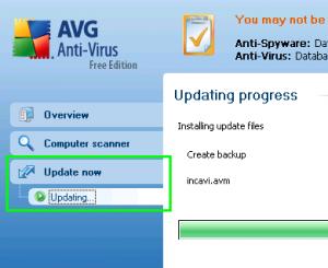 progress cara manual update avg free antivirus offline mode Manual Update AVG Free Antivirus Offline Mode