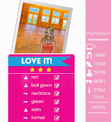 Teen Vogue Me Girl Level 16 - Prom Shoot - Shawn - Love It! Three Stars
