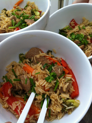 Kate Finch sticky chicken stir fry juniors pantry founder shares a recipe