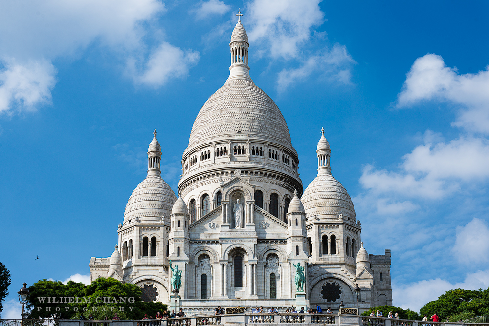 到巴黎攝影 蒙馬特聖心堂 La Basilique du Sacre Cœur de Montmartre