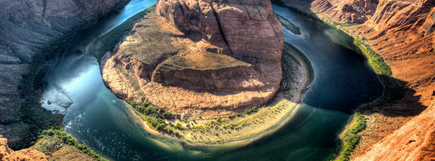 Horseshoe bend arizona facebook cover