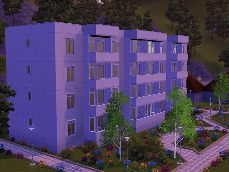 apartments flat blok mieszkalny