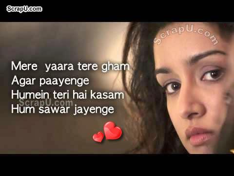 Mere yaar tera gum jo kabhi payenge, teri kasam sanwar jayenge - Aashiqi2-Pics pictures