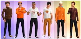 Коллекция мужской одежды 55DSL сезона осень-зима