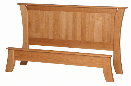 Kyoto Platform Bed in Natural Cherry