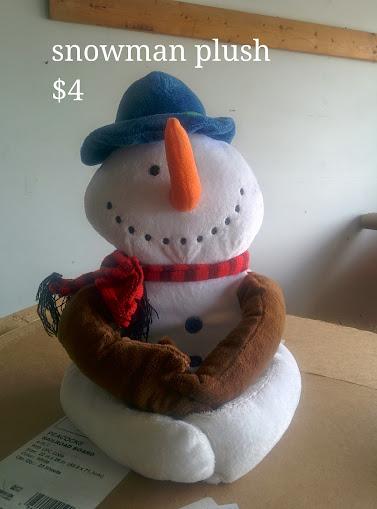 Snowman Plush