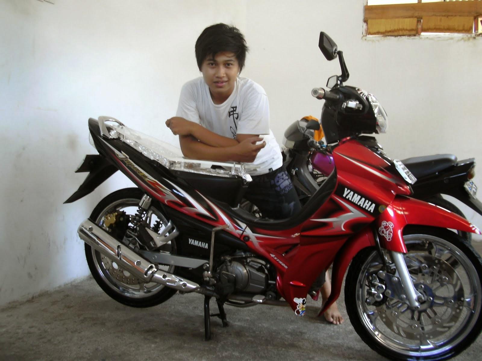 Foto Foto Modifikasi Motor Yamaha Jupiter Z