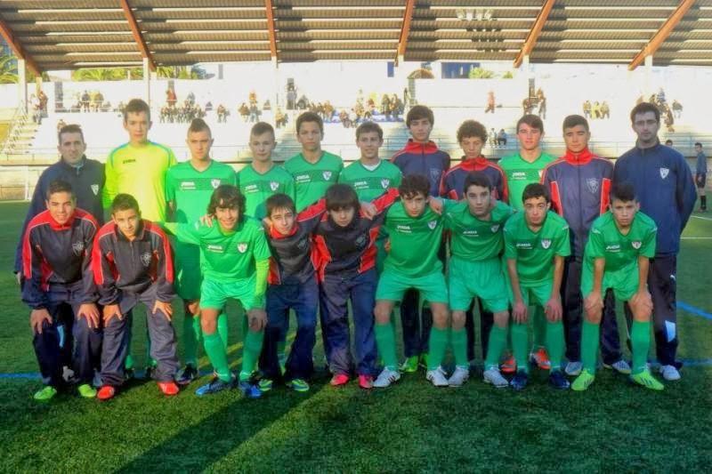 Selección Sub-14 de Ferrolterra. Caranza 06/12/2013