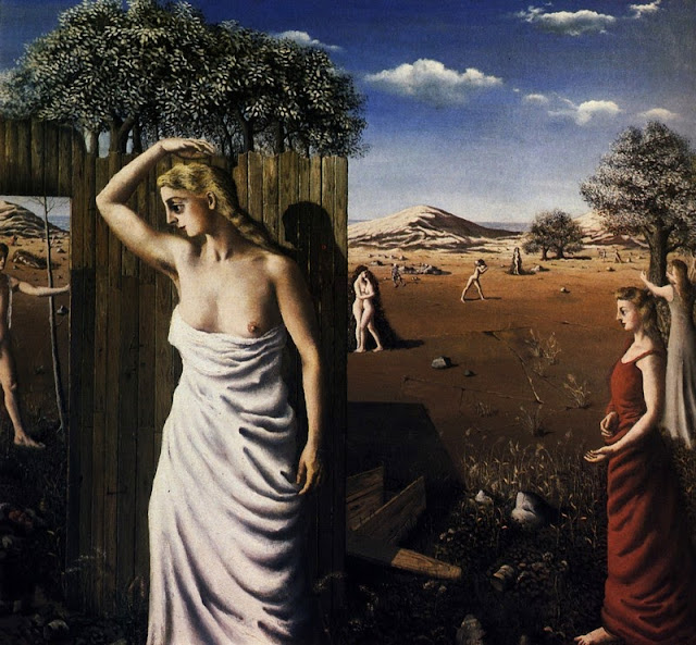 Paul Delvaux - The Summer, 1938