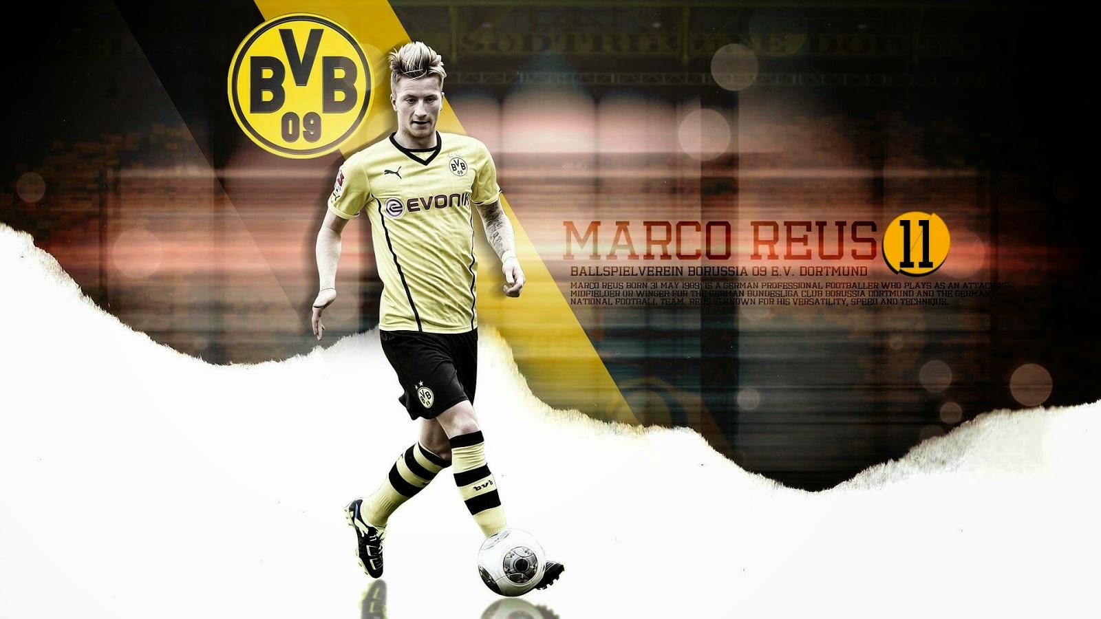 Cara download wallpaper Marco Reus Wallpapers: Klik kanan pada ...