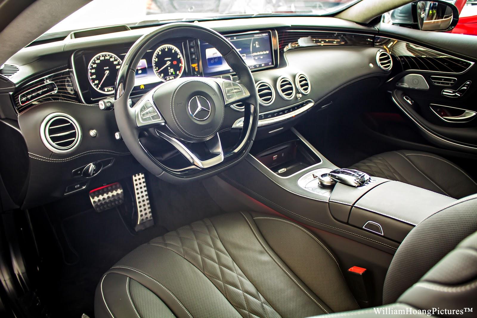 Nếu ngồi vào chiếc coupe S500 này, chắc chắn bạn không muốn ra nữa