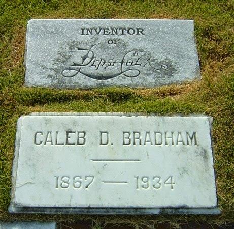 viaje a la tumba de caleb d. bradham inventor pepsi cola