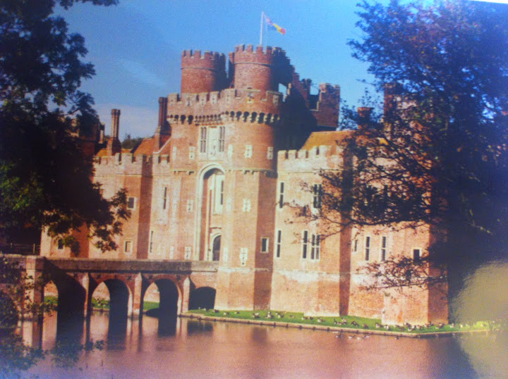 """A vintage shot of the """"castle"""" which was my study centre. #studyabroadbecause"""