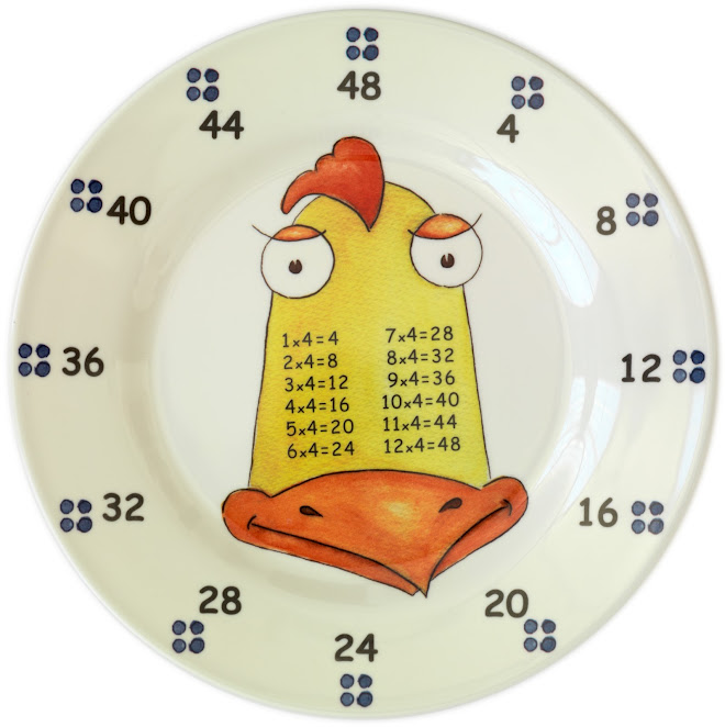 Rooster FOUR-mi-da-ble