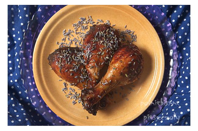 Kurczak w miodzie lawendowym