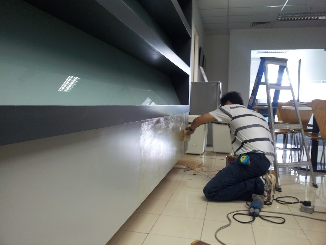 laminating cabinet