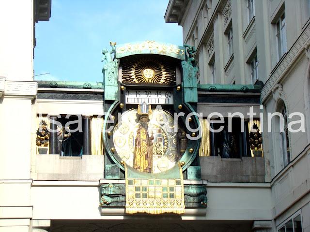 Ankeruhr, Viena, Austria, Elisa N, Blog de Viajes, Lifestyle, Travel