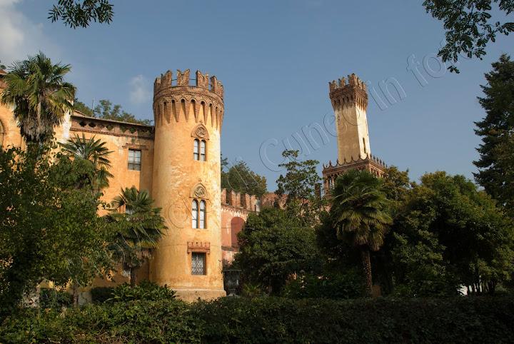 fotografia castello roccolo busca