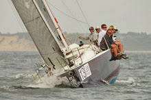 J/109 cruiser-racer one-design sailboat- sailing Block Island