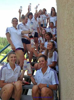 2013 Championnat du Monde -23 ans - Equipe de France Féminine (photo Christine Gossé)