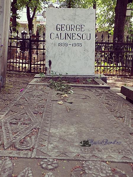 mormant george calinescu cimitir bellu