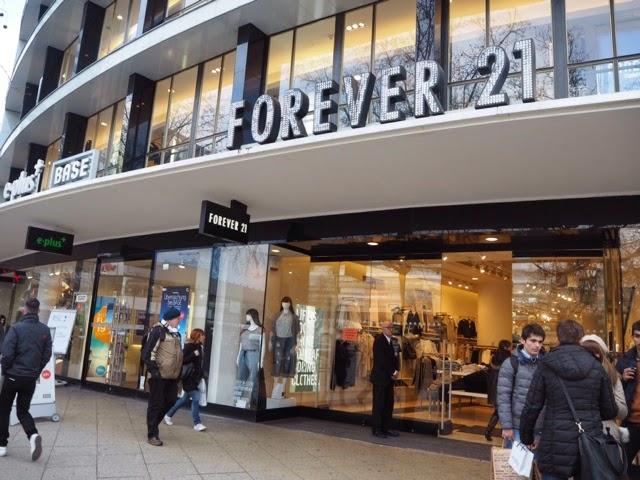 forever 21, shopping, shop, berliini, berlin, store, germnay, saksa, store,