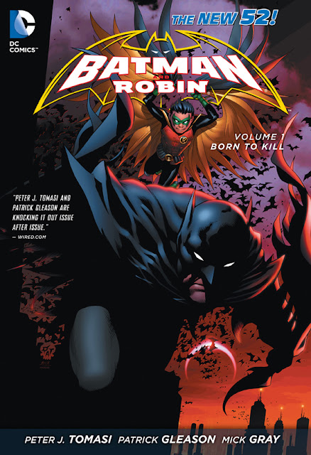 Batman and Robin, v. 1: Born to Kill cover
