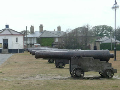 The Cannons on Gun Hill