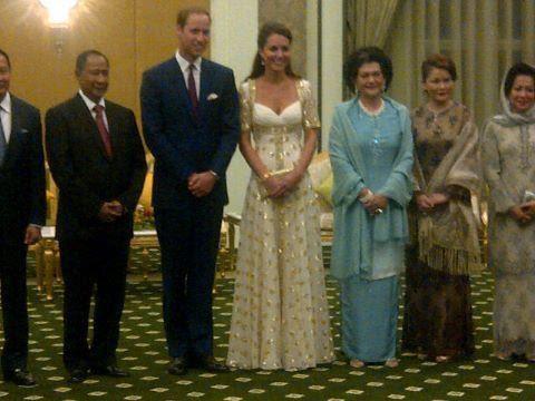Prince William dan Kate Middleton dinner dengan Agong Malaysia