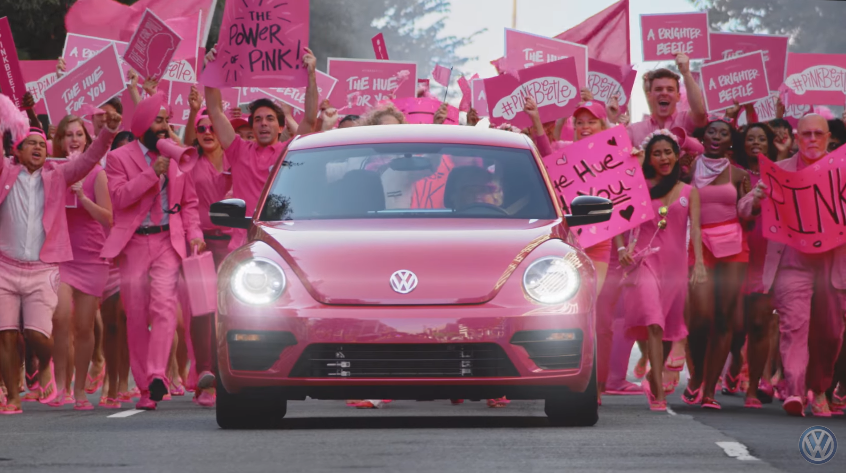Volkswagen #PinkBeetle The 2017 Limited Edition Bug Is Here and it's Fresh...Fuchsia