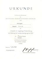 255b Medaille für langjährige Pflichterfüllung zur Stärkung der Landesverteidigung der DDR für 20 Jahre http://www.ddrmedailles.nl