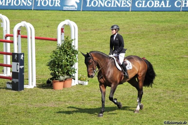 Münster 2013: Meredith Michaels-Beerbaum Sieg in Quali zur Riders-Tour
