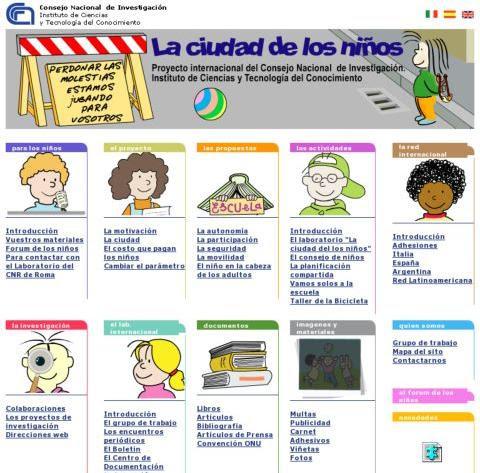 Proyecto Ciudad de los Niños -Tonucci