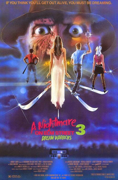 Poster Of A Nightmare on Elm Street 3: Dream Warriors (1987) Full Movie Hindi Dubbed Free Download Watch Online At alldownloads4u.com