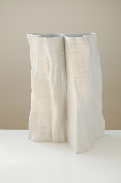 Jonathan Keep - Iceberg series, 3D printed ceramics