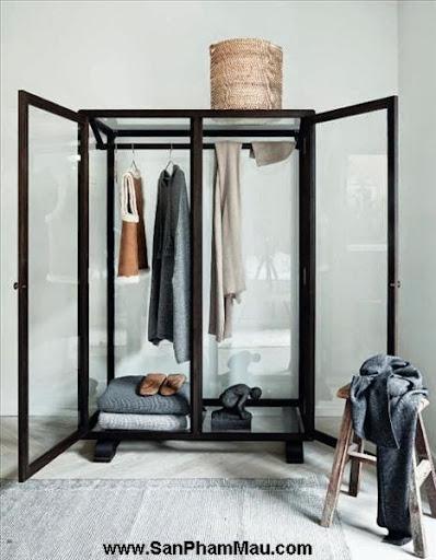 <strong><em>Thiết kế tủ quần áo</em></strong>: Khẳng định con mắt thẩm mỹ với tủ quần áo mở-3