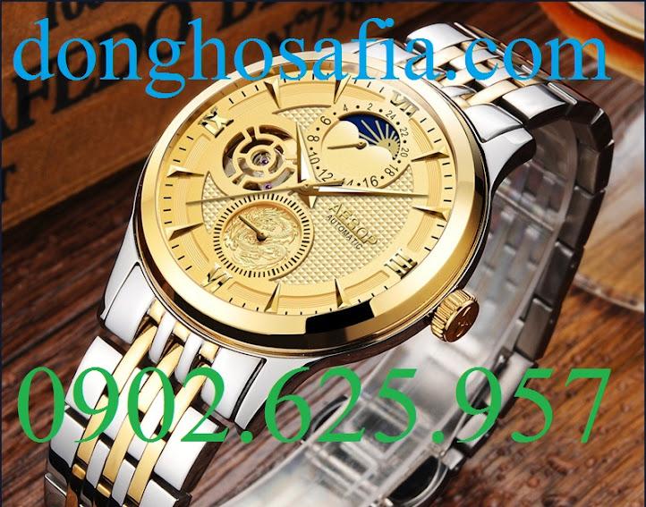 Đồng hồ nam cơ Aesop 9019