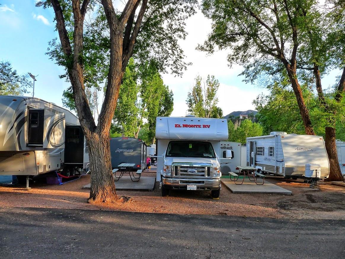Garden Of The Gods Rv Resort Campground Colorado Springs Colorado Womo Abenteuer