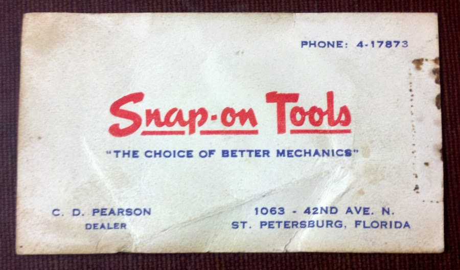 Really old snap on business card the choice of better mechanics found this in some old papers everything else was dated mid to late 1920s i assume the card is from about then as well colourmoves