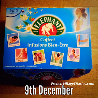 french village diaries food france advent calendar infusions Christmas