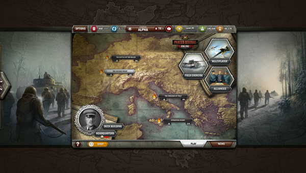Panzer General Online thử nghiệm Closed Beta 2