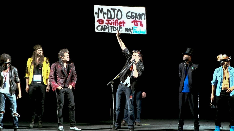 Promo Mojo Géant Zenith Toulouse Mai 2013 Matthieu Chedid