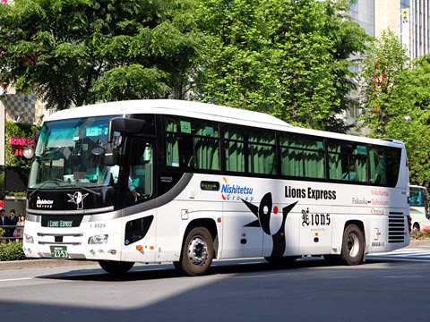 西鉄高速バス「ライオンズエクスプレス」 8529