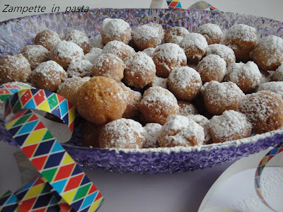 Castagnole - Ricetta di Carnevale