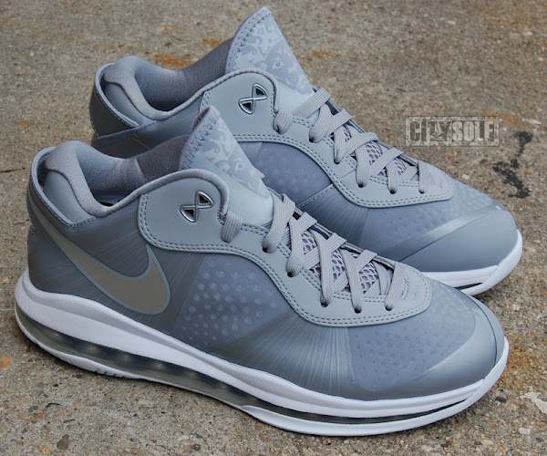 Nike LeBron 8 V2 Low 8220Wolf Grey8221 Avialable Online at Eastbay