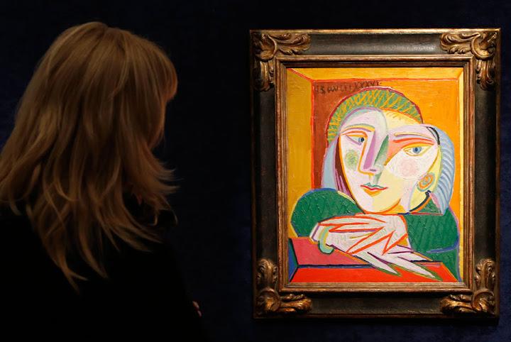 Potret kekasih Picasso berharga RM127 juta